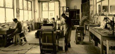 Glasschleiferei 1950